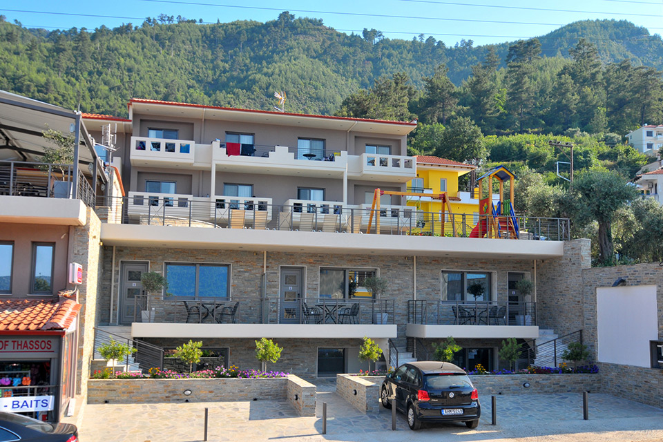 Ntinas Family Rersort. Apartments, Thassos