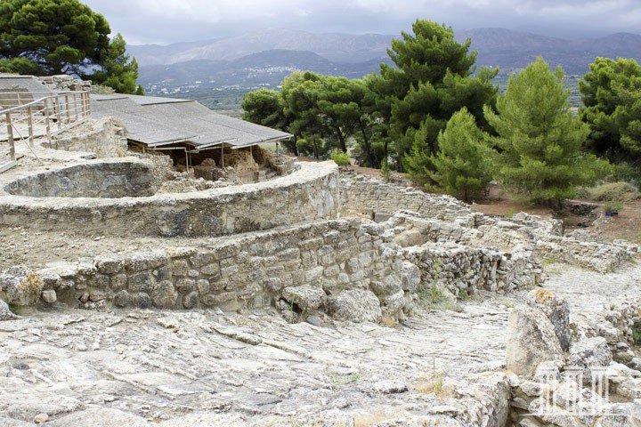 Phaistos - the Minoan Palace of Phaistos