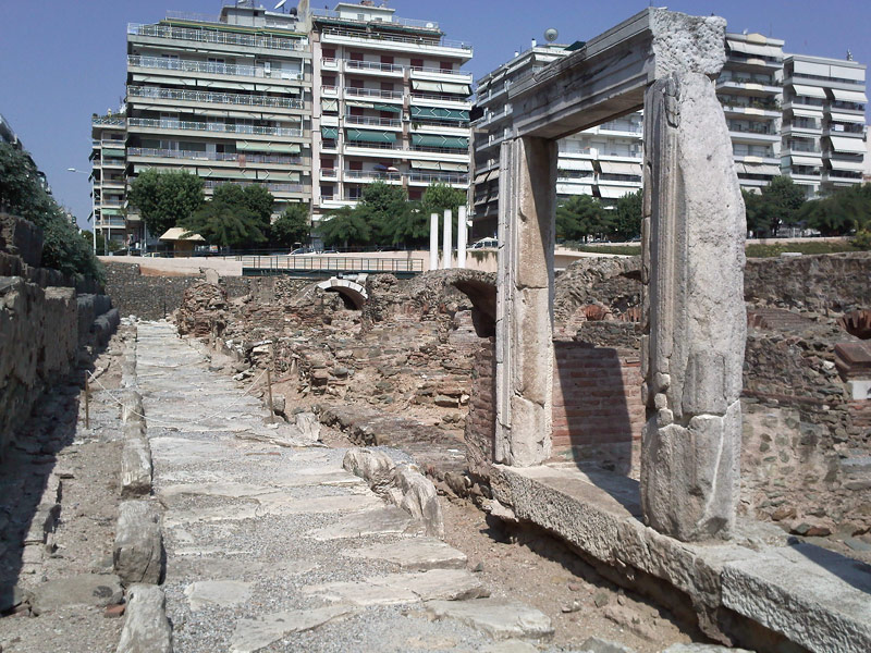 Roman Forum. Thessaloniki