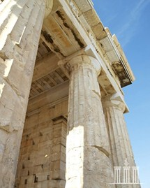 Columns of the Propylaea of Acropolis