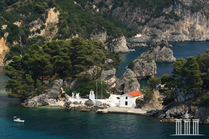 The island of Panagia