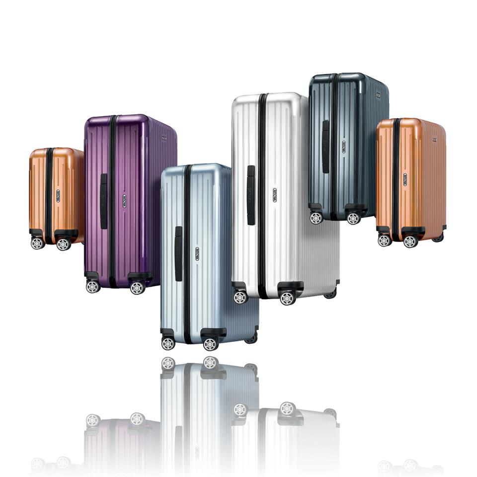Rimowa. Travelling suitcases and luggage)