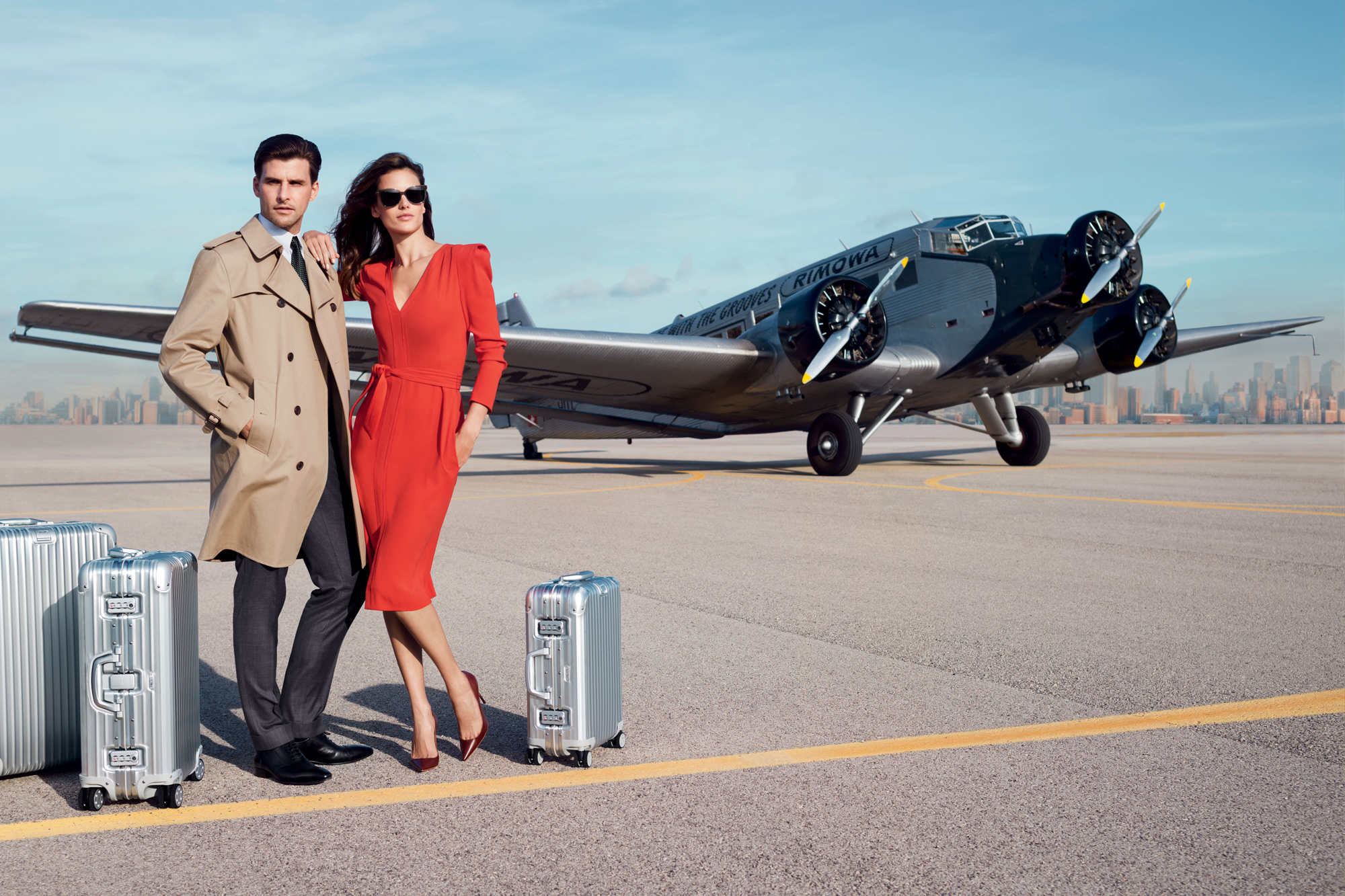 Rimowa. Travelling suitcases and luggage