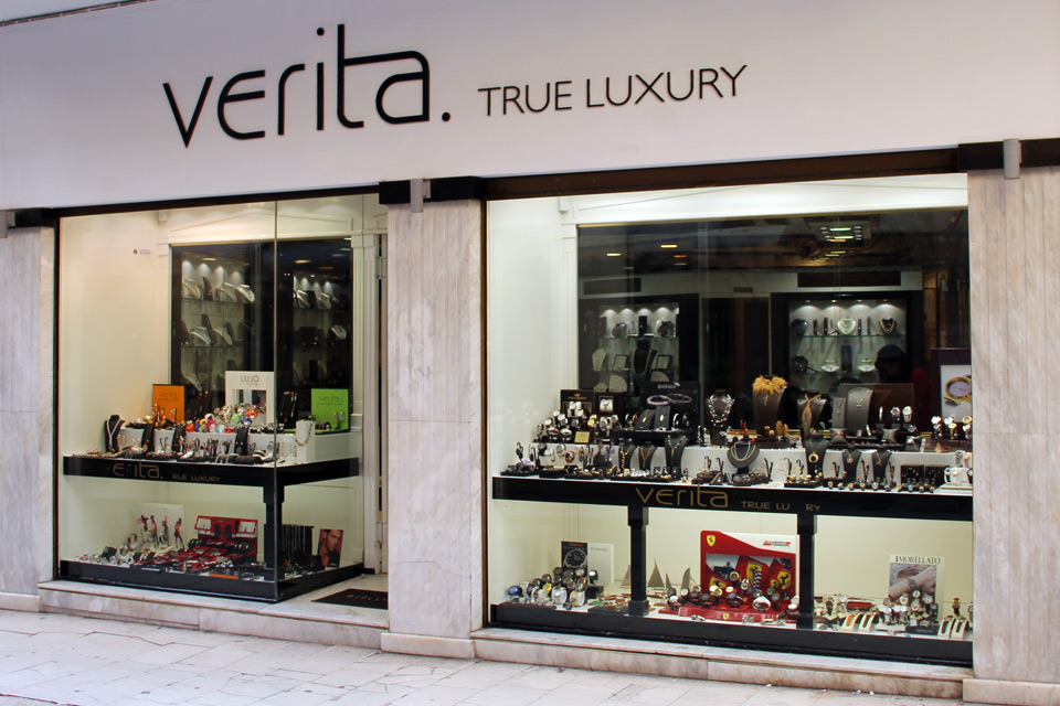 Verita. True Luxury, Jewellery stores
