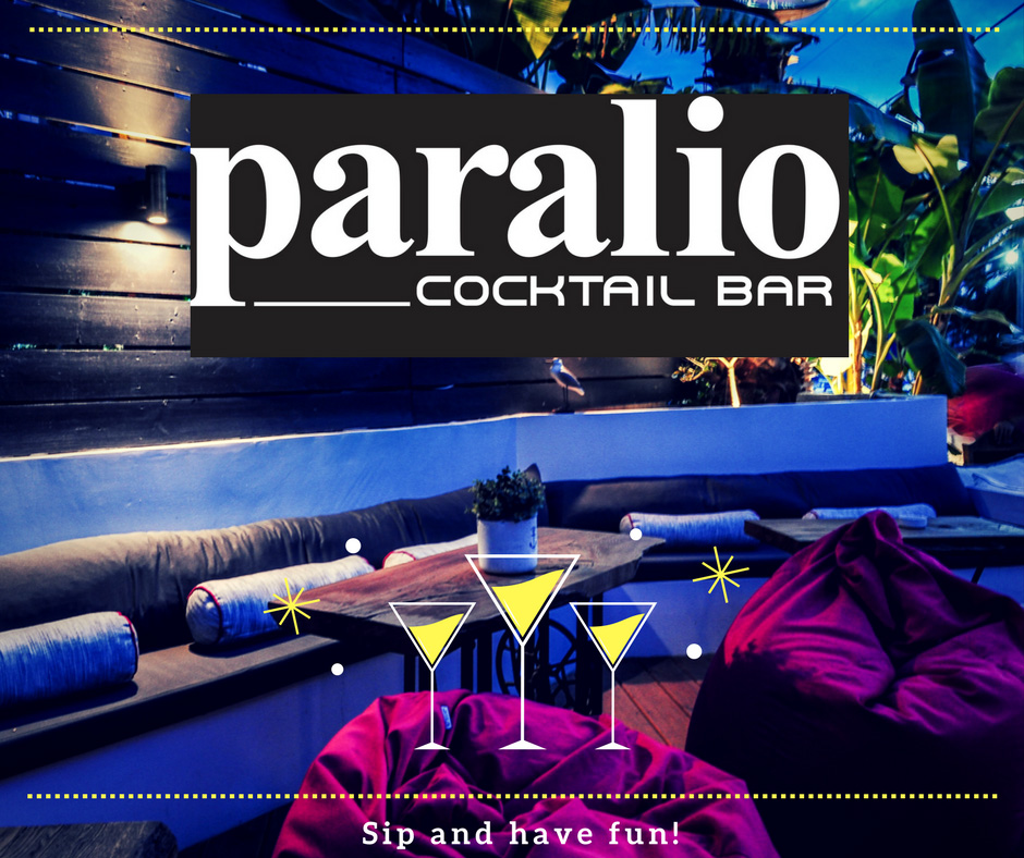 Paralio Cocktail Bar. Chanioti, Chalkidiki)