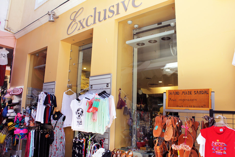 Exclusive. Men's and women's fashion, Corfu