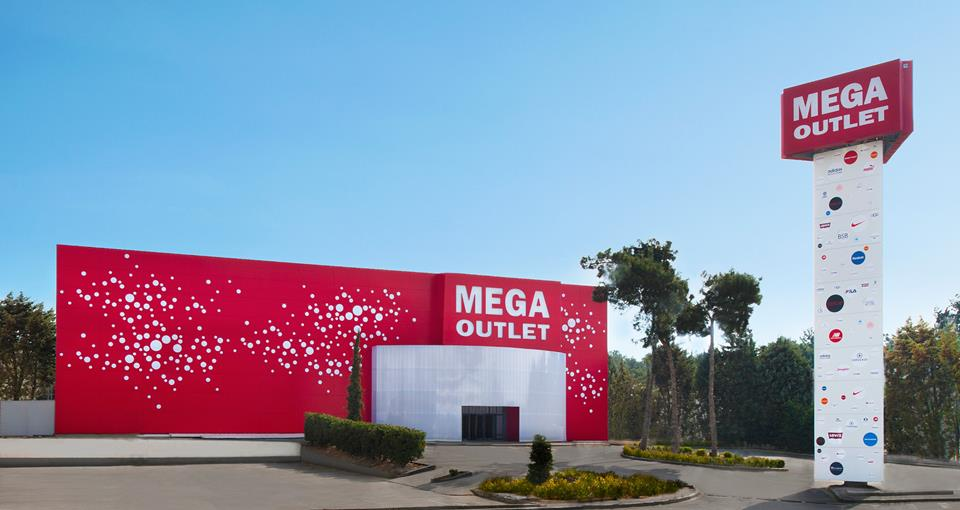 Mega Outlet. Discount shopping center, Thessaloniki