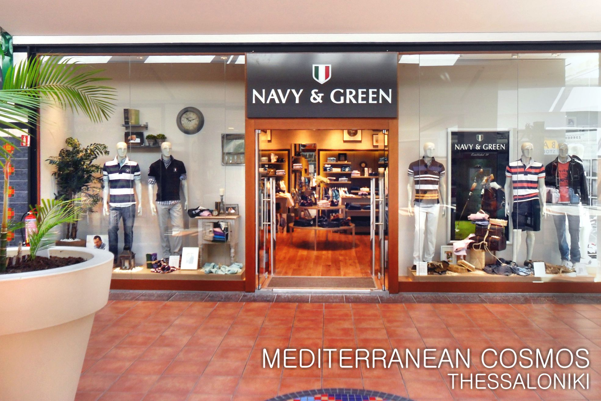 Go green clothing stores
