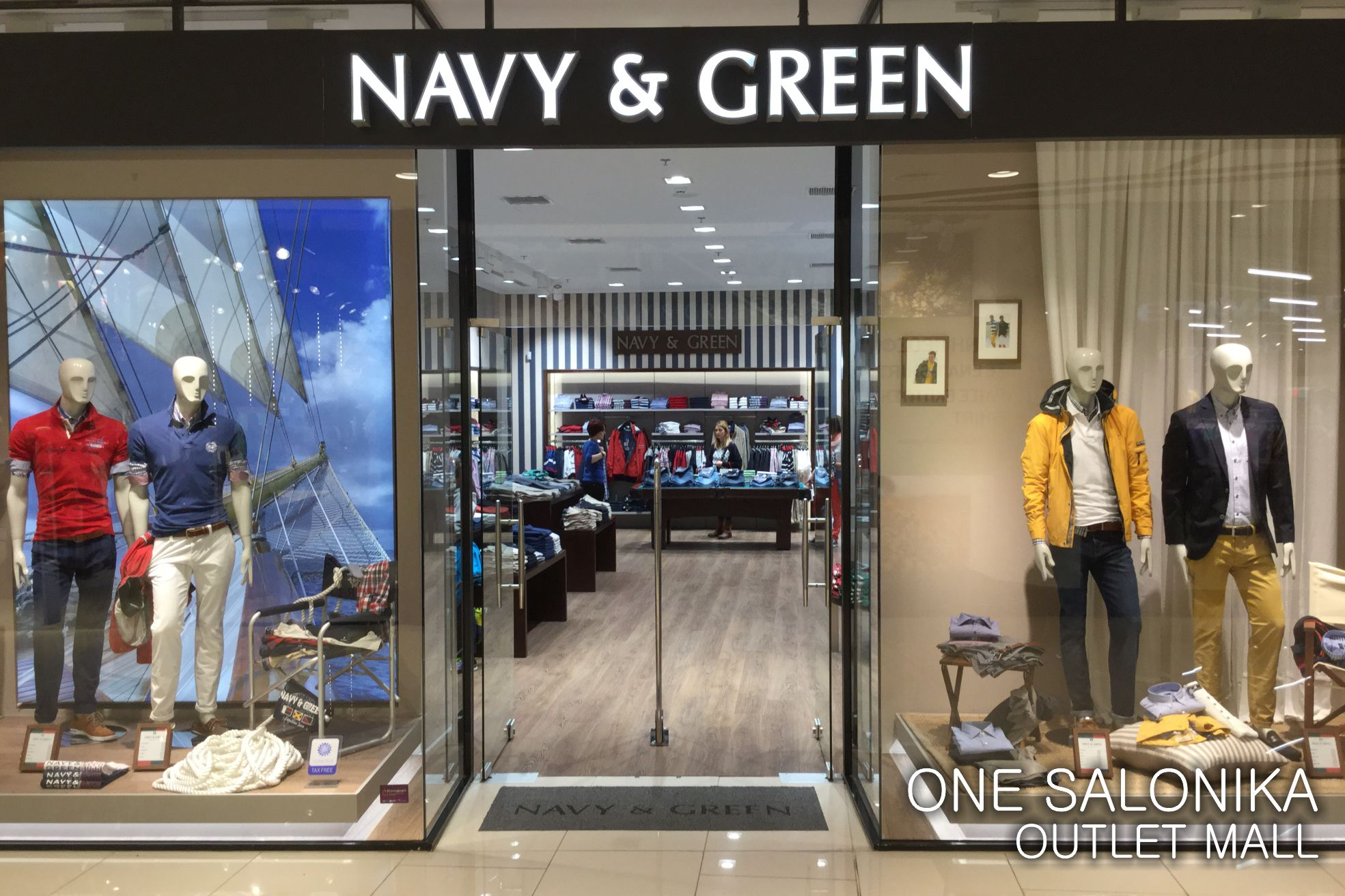 Navy clothing stores
