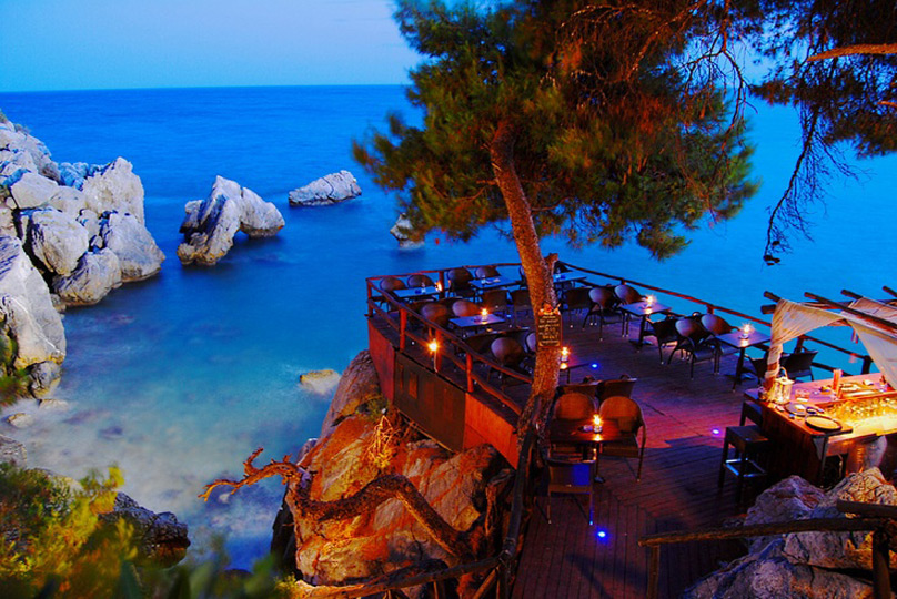 Villa Stasa Sea Bar, Лутра Агиас Параскевис
