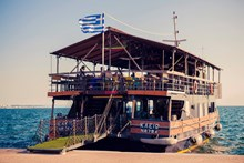 «Klio» cruise bar in Thessaloniki