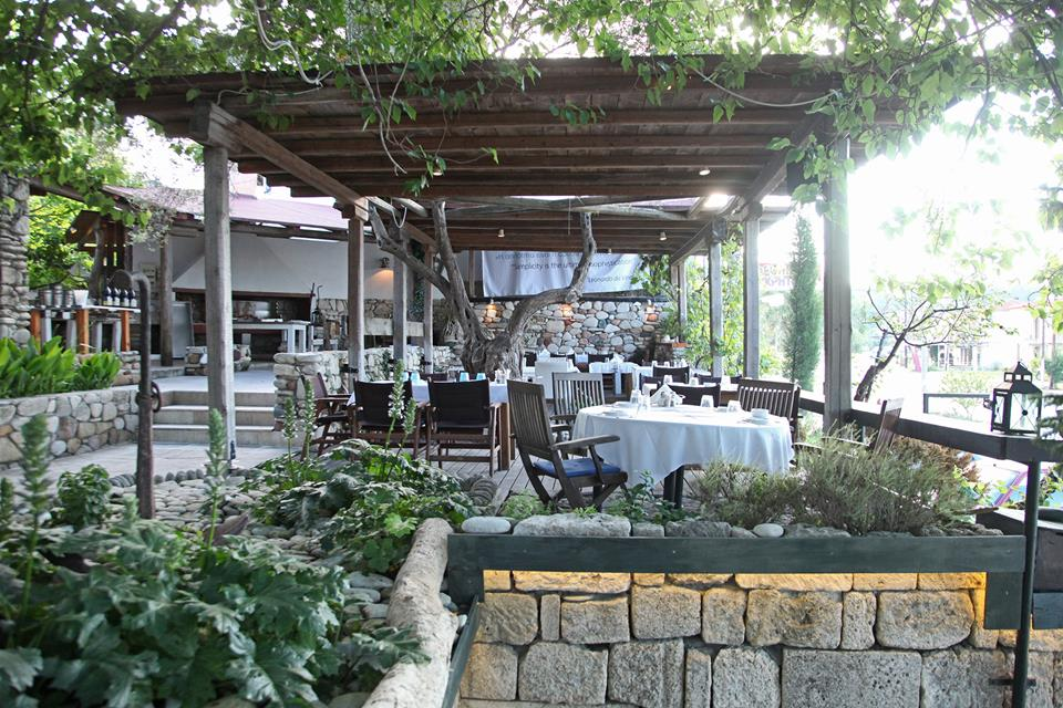 TRIZONI Fish Restaurant. Κρυοπηγή