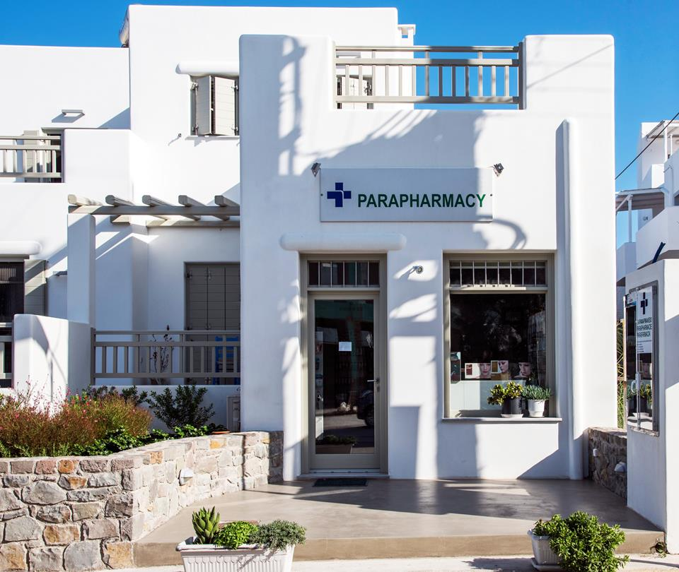 Milos Pharmacy. Pharmacies in Milos island