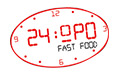24 hour fast food
