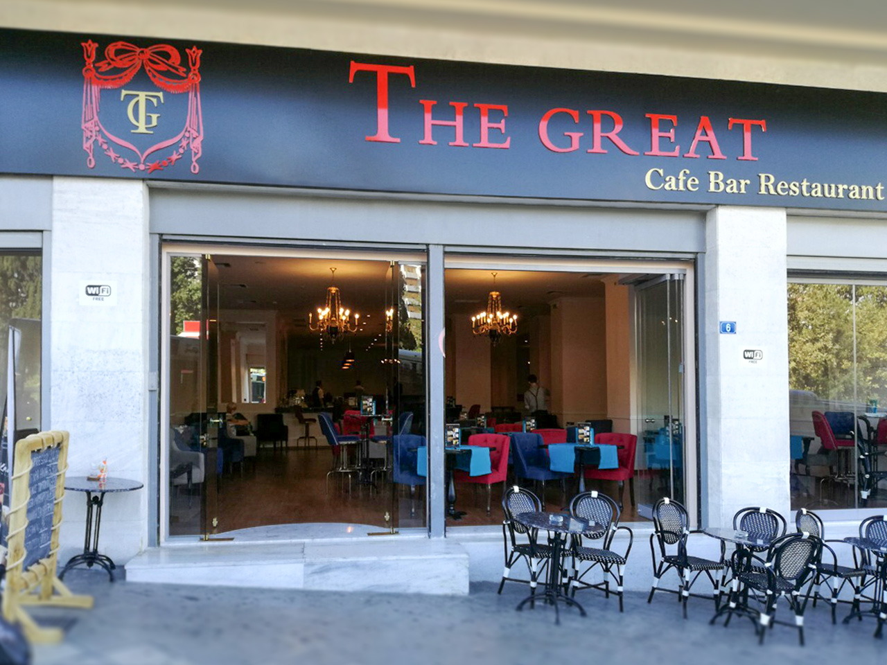 The Great. Cafe-bar restaurant