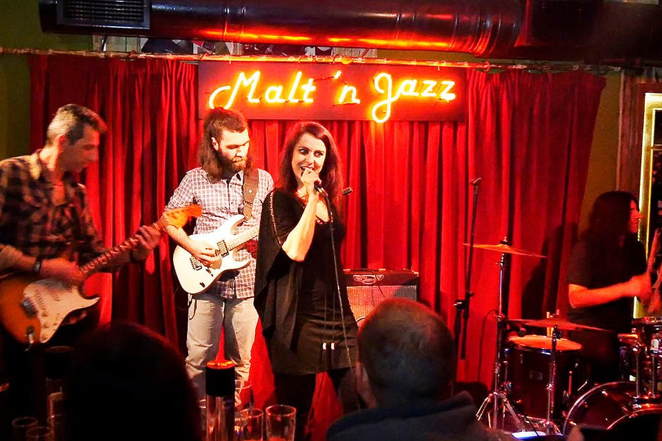 Malt & Jazz. Cafe-bar, Thessaloniki