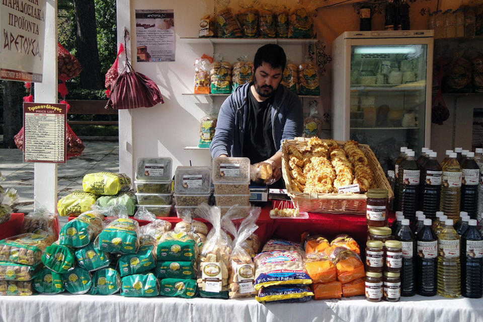 Aretousa. Crete traditional products)