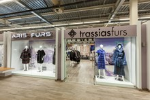 Aris Furs. Enigma Shopping Center