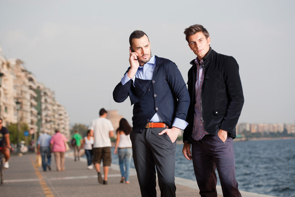 Makis Tselios, mens clothing collection