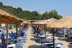Star Fish Beach-bar. Mykoniatika, Nea Kallikratia