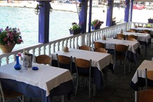 Fish tavern «Christos». Neos Marmaras