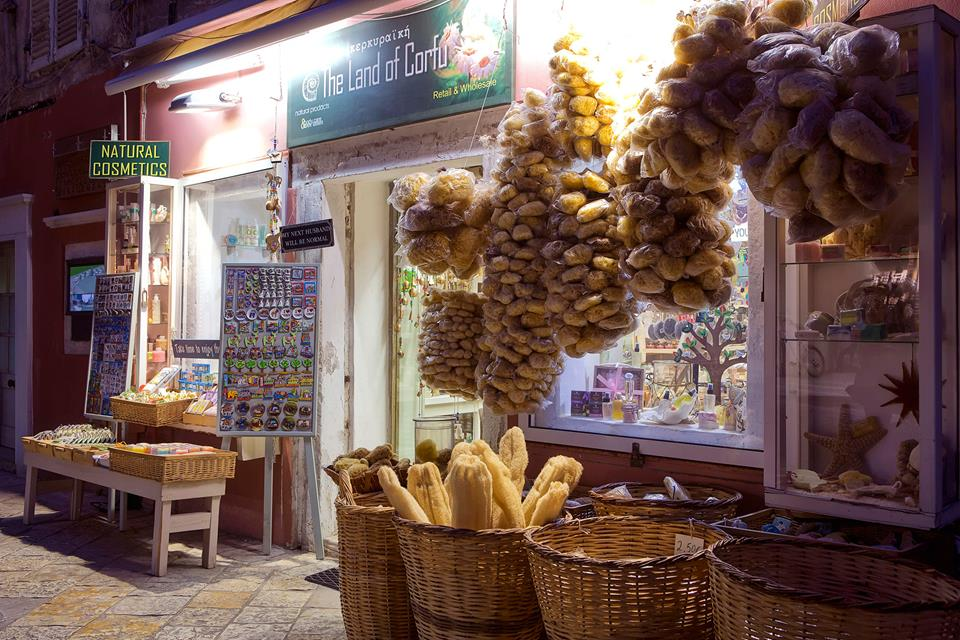The Land of Corfu. Natural Greek Products)