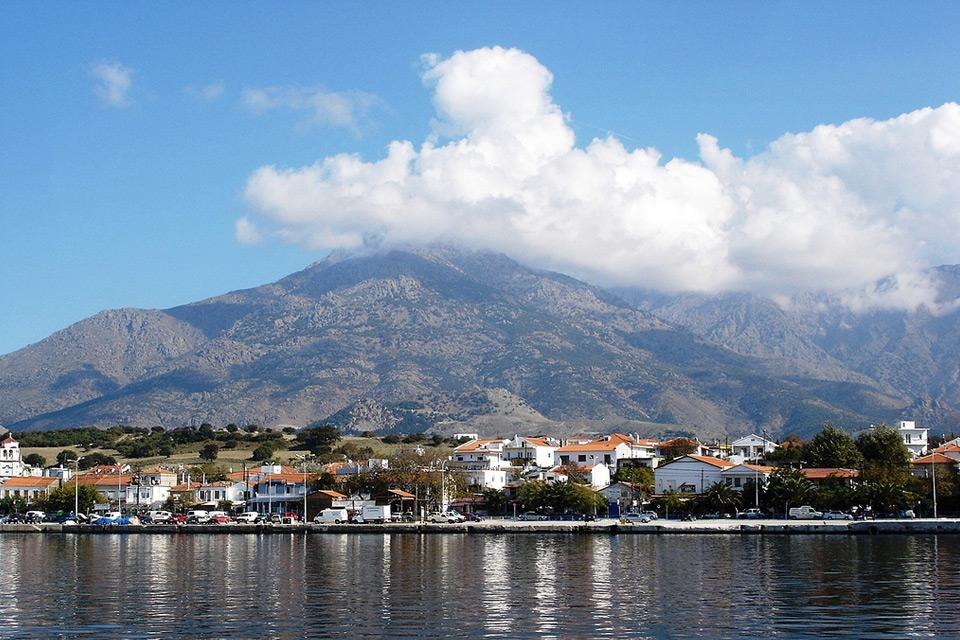 Thassos Cruise. Yachting and cruises, Thassos)
