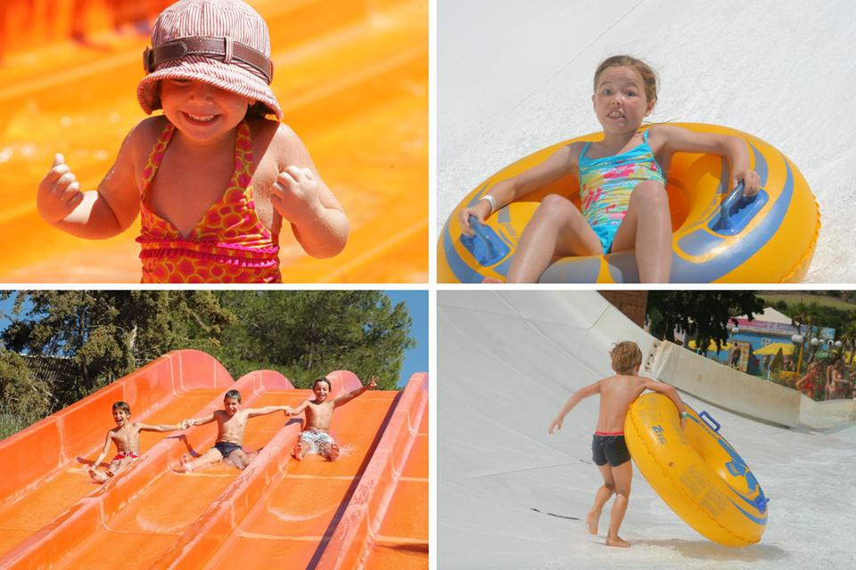 Kids. Acqua Plus Waterpark. Water park, Crete)