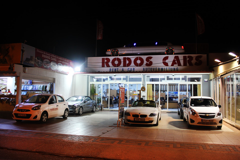 Rodos cars, rent a car. Rhodes