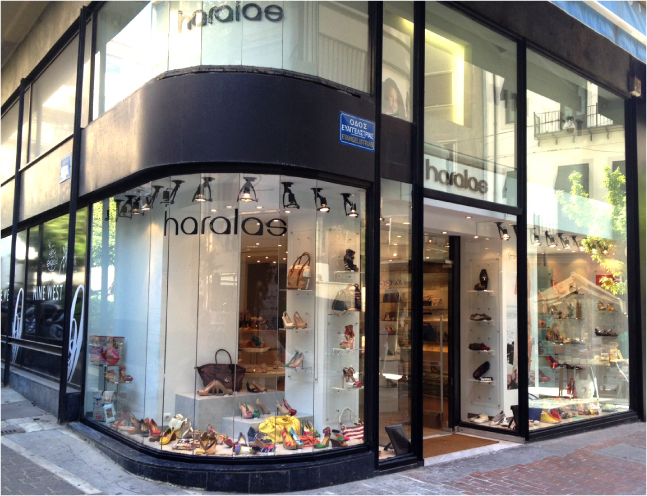 haralas, Shoes bags and accessories