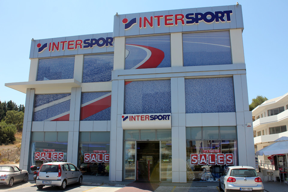 Intersport. Rhodes