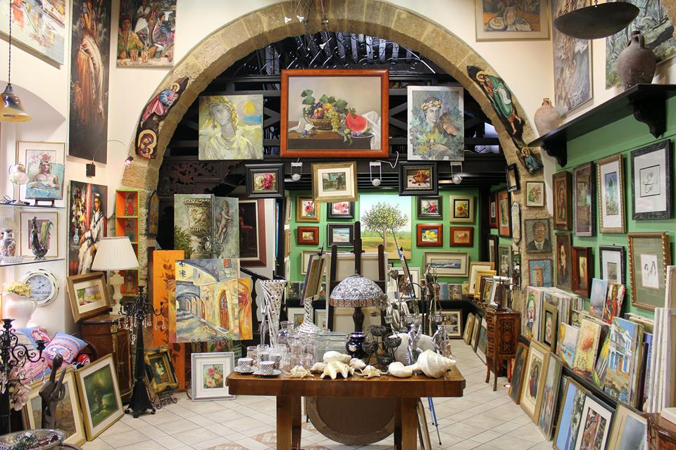 Art Center Gallery. Rhodes)