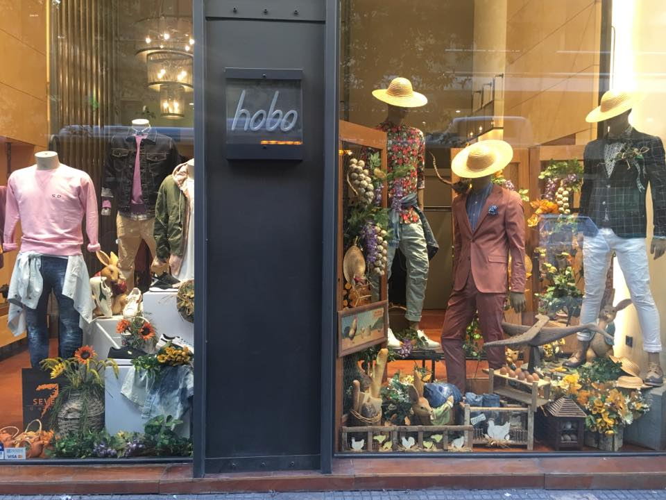 Hobo. Clothing store, Thessaloniki
