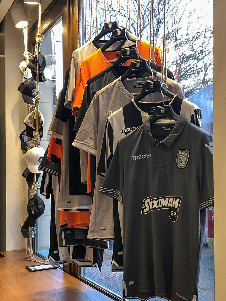 PAOK FC City Store 1926 | Boutique of Football Club Paok