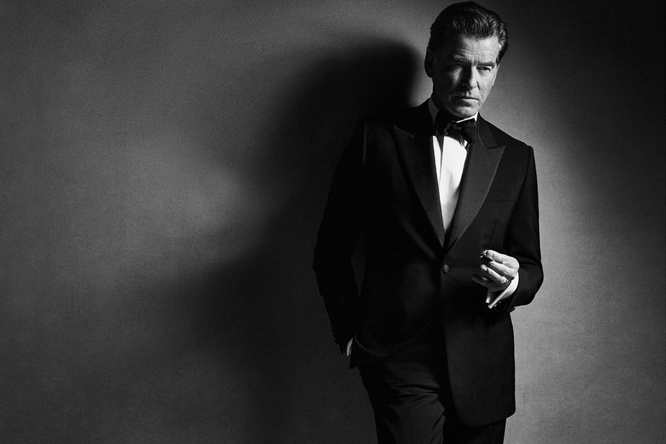 Pierce Brosnan for Brioni)