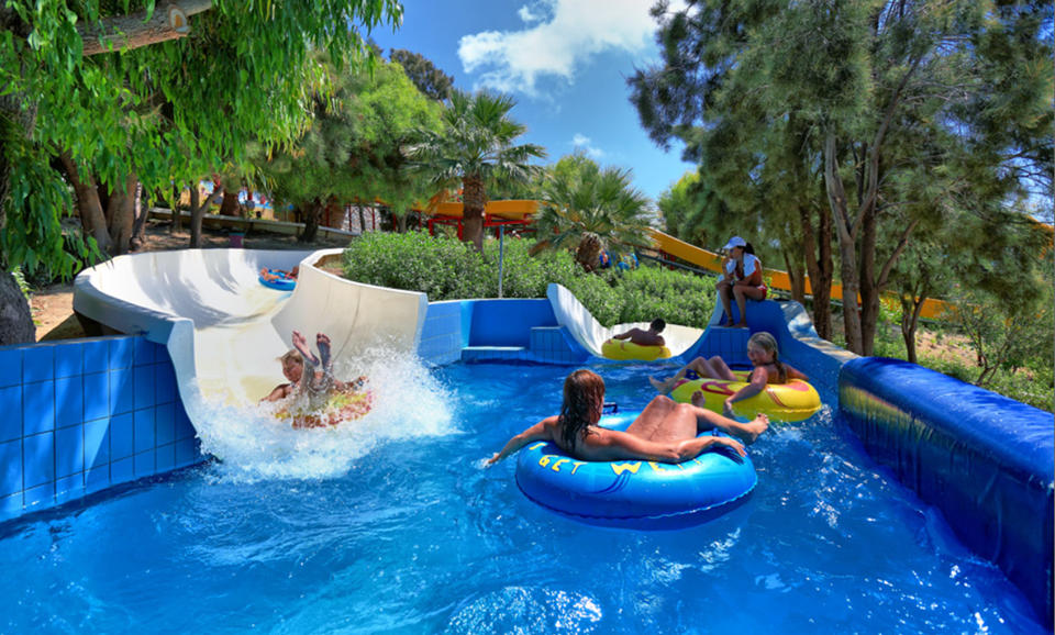 Watercity Waterpark. Crete)