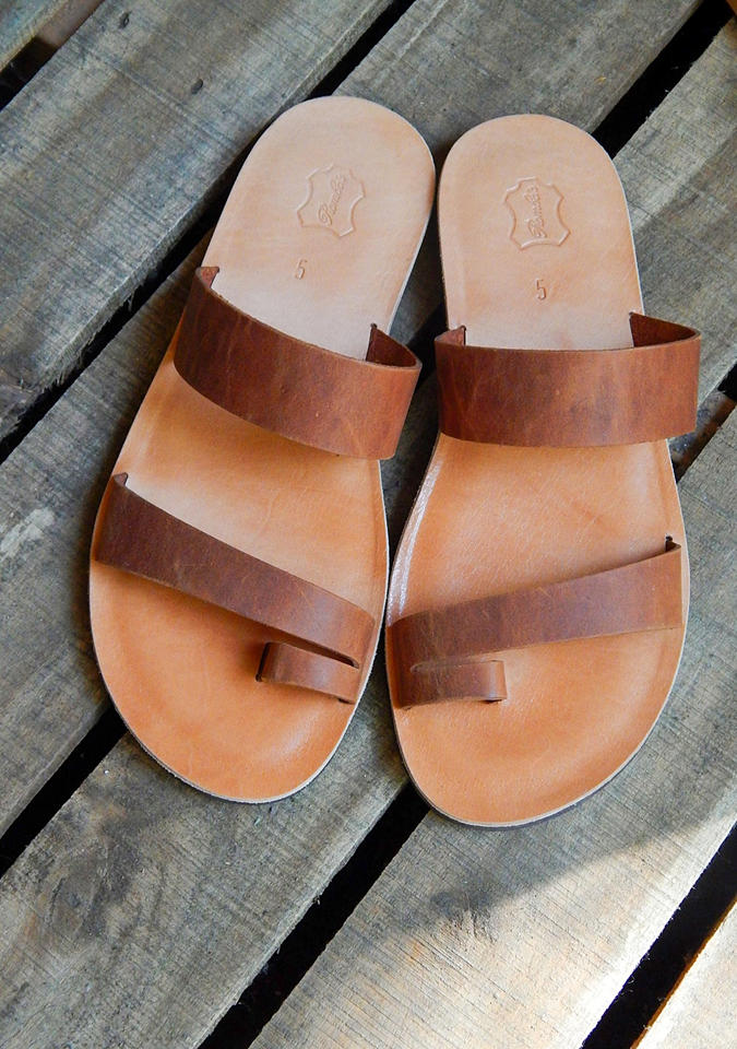 Romba's - handmade leather sandals and bags, Thessaloniki)