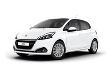 Salonica rent a car. Peugeot 208