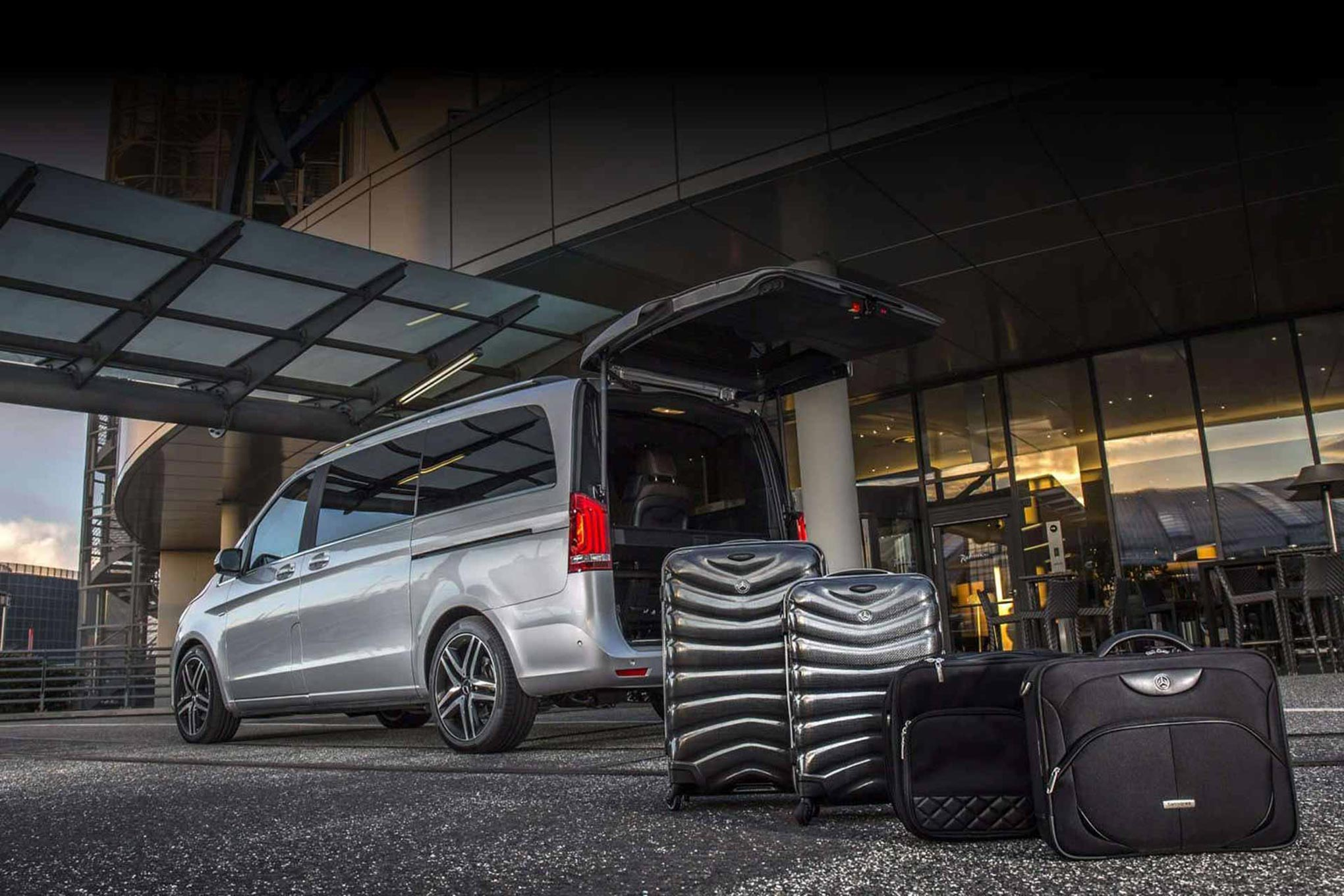 Salonica rent a car. Mercedes-Benz V-Class