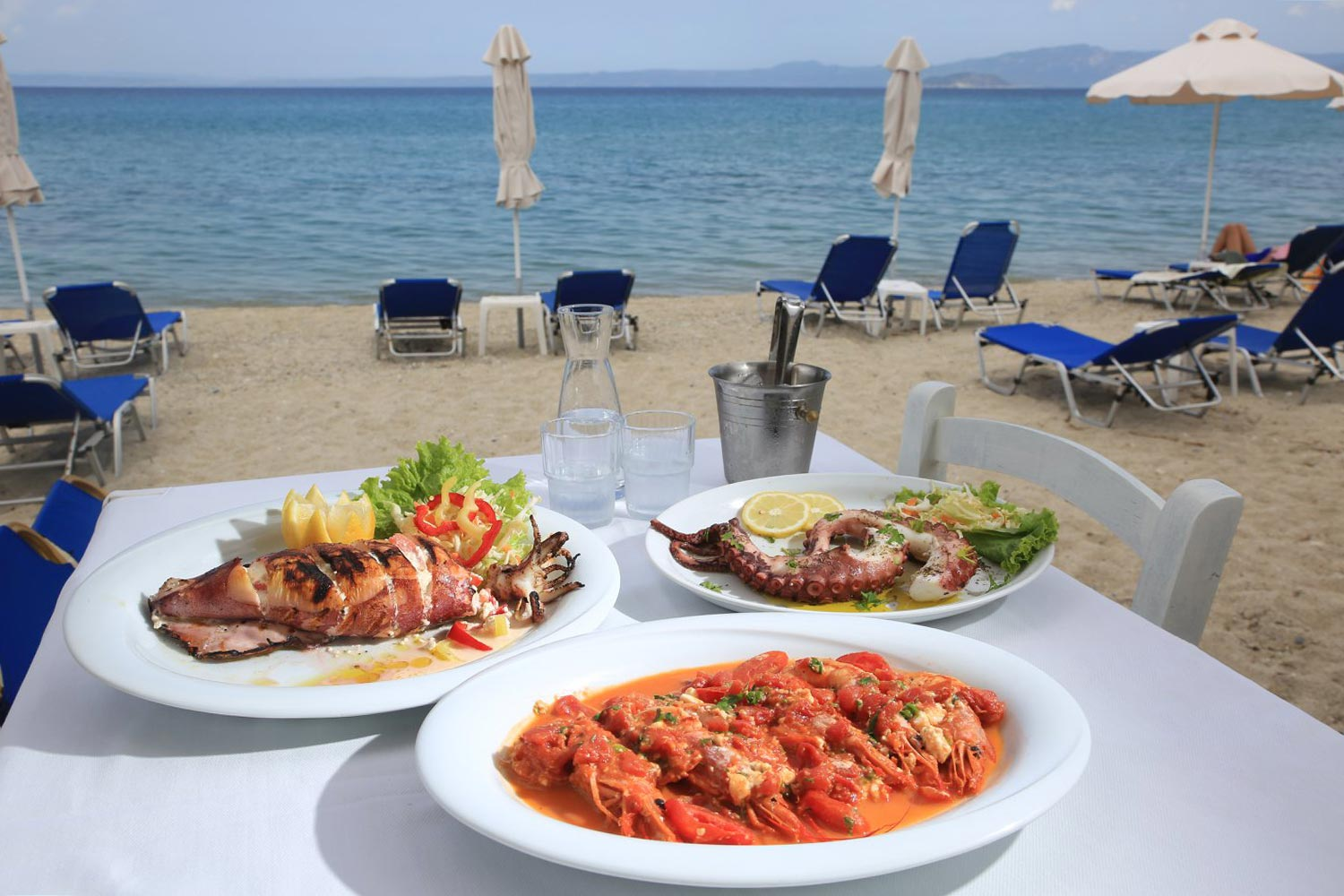 «Amos mediterranean cuisine» Sea food restaurant