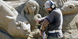 Crete Sand Sculpture Festival June 3-20