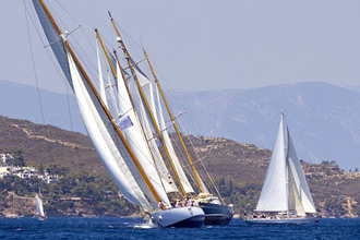 4o Spetses Classic Yacht Race 2014