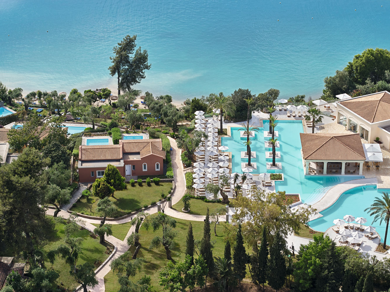 Eva Palace Luxury Hotel in Corfu