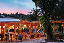Giardini di Olivo restaurant at sunset