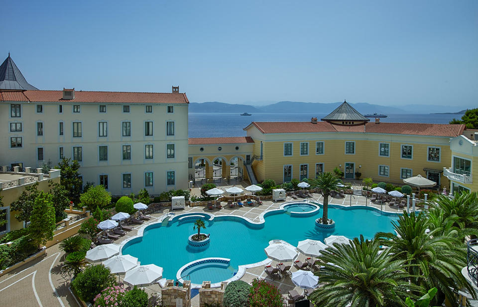 Thermae Sylla Spa Wellness Hotel. Αιδηψός, Εύβοια)