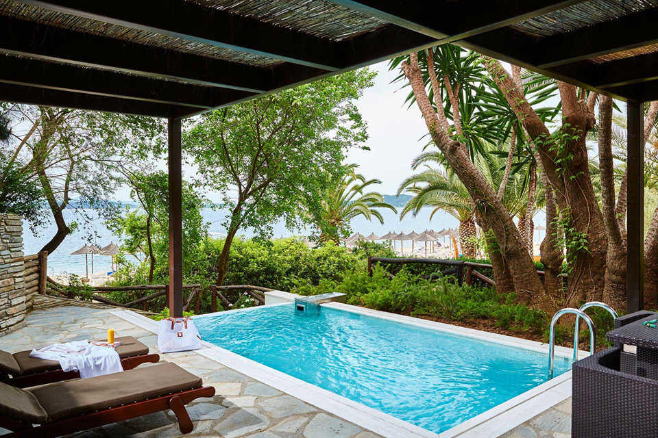 Grand Suite Sea Front Private Pool Ammos)