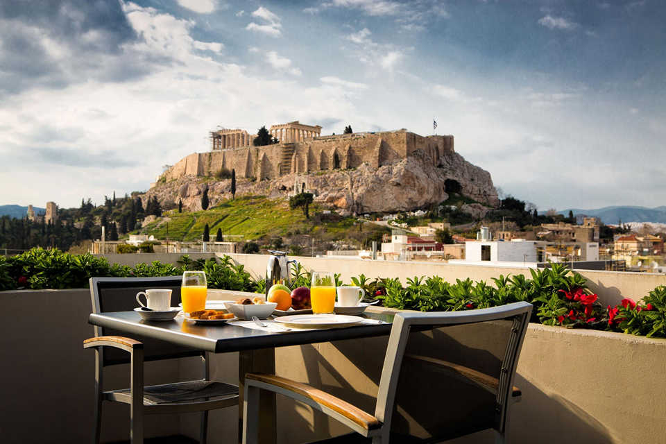 The Athens Gate Hotel)