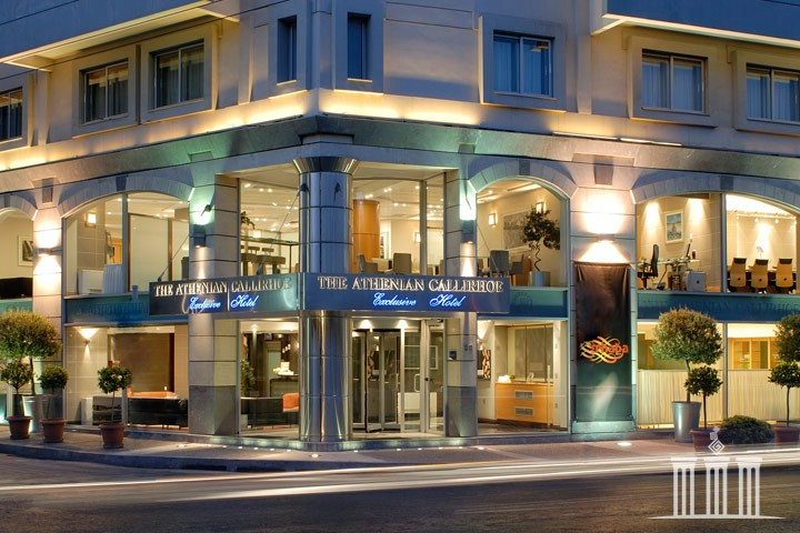 The Athenian Callirhoe Exclusive Hotel. Вид снаружи