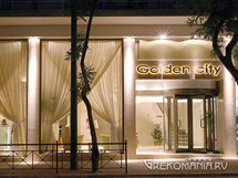 Golden City Hotel. Вход