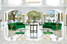 Eccentric luxury ascended at Lobby lounges